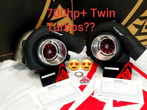 ARASHI DYNAMICS TURBO UNBOXING/REVIEW (Kuro GTX2867R Ball bearing billet turbo)