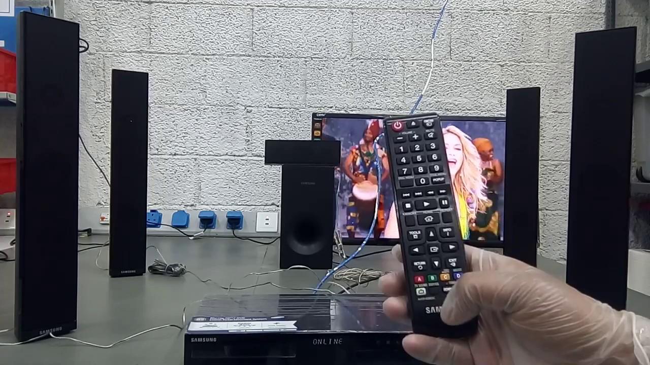 Foto samsung ht j4550 - Samsung Blue Ray 3d Dvd Home Theater System Ht J4550