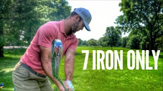 7 Iron Only Challenge With Brodie Smith And GM Golf
