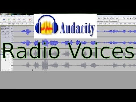 How to Make Voices or Audio Sound Like a Radio in Audacity