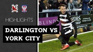 Darlington 5-1 York City - Vanarama National League North - 2018/19