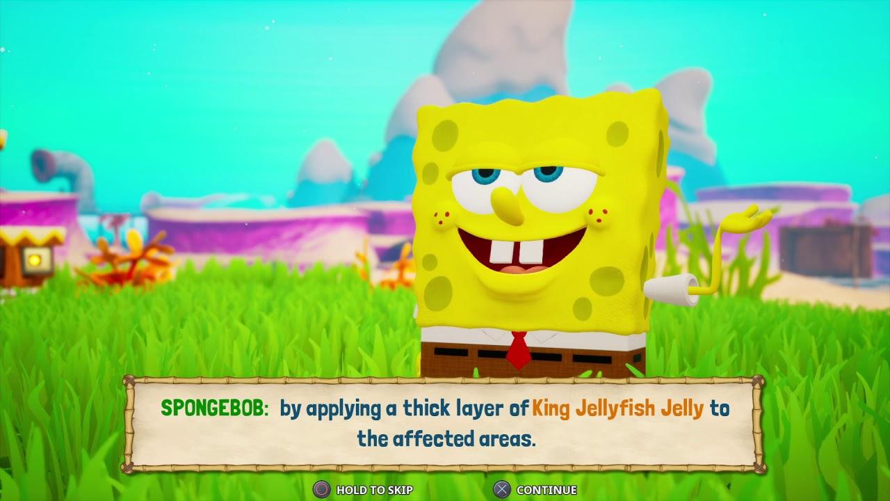 walk through bottom battle for bob bikini Sponge