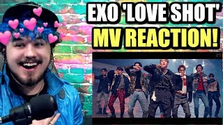 Cover images EXO 엑소 'Love Shot' MV | THE VISUAL KINGS ARE HERE! | REACTION!!