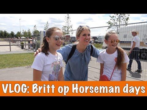 VLOG: Britt bij Horseman days!!| PaardenpraatTV