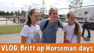 vlog britt bij horseman days   paardenpraattv