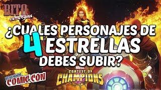 Bito Estrategias: ¿Cuales personajes de 4 Estrellas debes subir? - Marvel Contest Of Champions