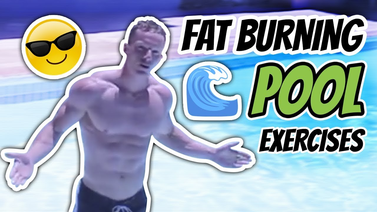 Swimming pool workout for weight loss fat burning pool - Swimming pool exercises to lose weight ...