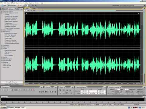#1 Adobe Audition 3.0'da Kayıt ve Mix Tekniği (Video 1)