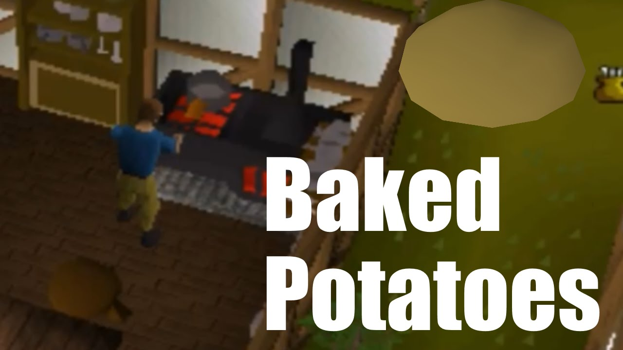 Money Making - 1 HOUR of BAKING POTATOES! - OSRS