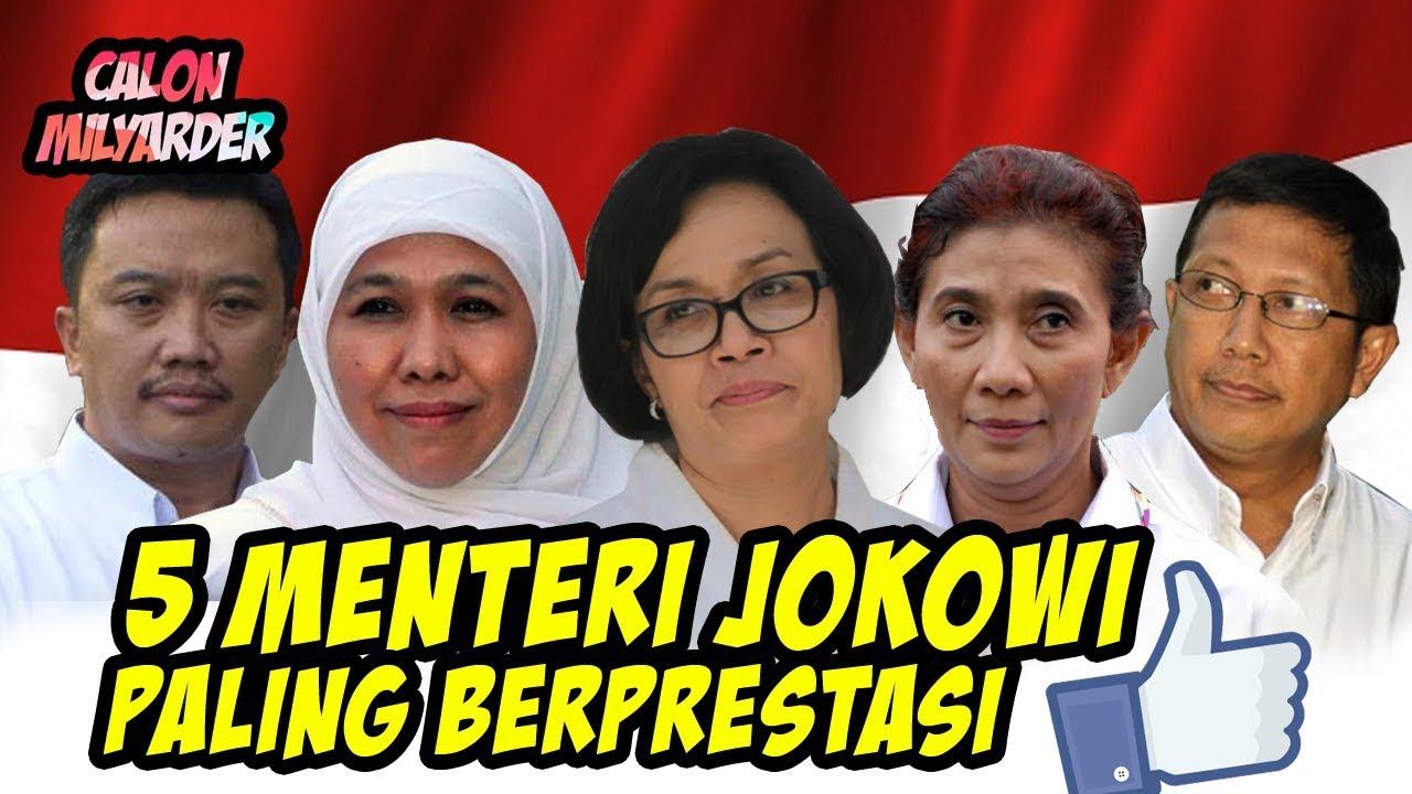 BANGGA! 5 Menteri Indonesia yang Paling Berprestasi di Kabinet Joko Widodo!