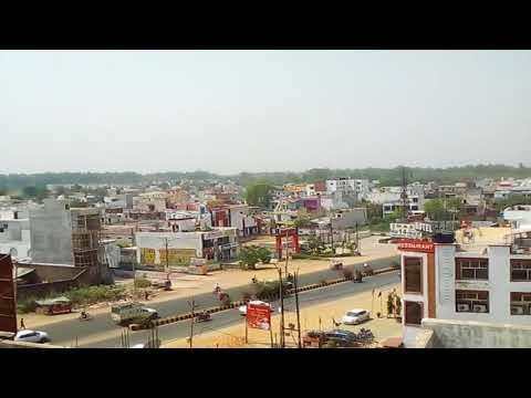Aerial View of BAREILLY City