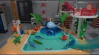 공룡메카드 타이니소어 수영장 장난감 놀이 Dino Mecard Dinosaur Swimming Pool Toys Play