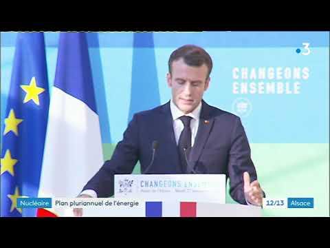 """Fessenheim : Emmanuel Macron confirme la fermeture des deux réacteurs nucléaires à """"l'été 2020"""""""