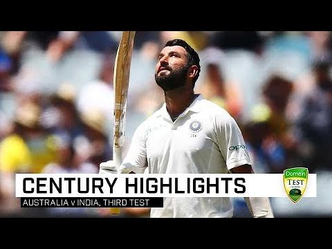 Pujara grinds down Aussies for Test ton Mp3
