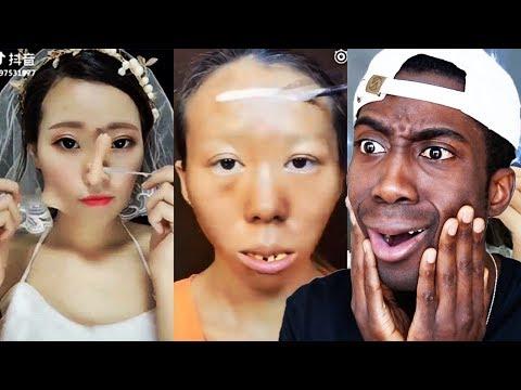 Viral Asian Make Up Transformation Reaction | Joseph Royal