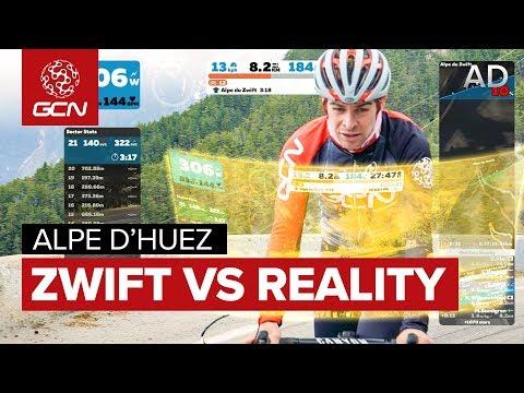 Alpe du Zwift VS Alpe d'Huez: Preparing For Reality?