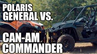 Polaris General 1000 vs. Can-Am Commander 1000