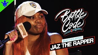 JAZ THE RAPPER Sets The Record Straight On Female Battle Rap + More on #BattleCode I RapMatic