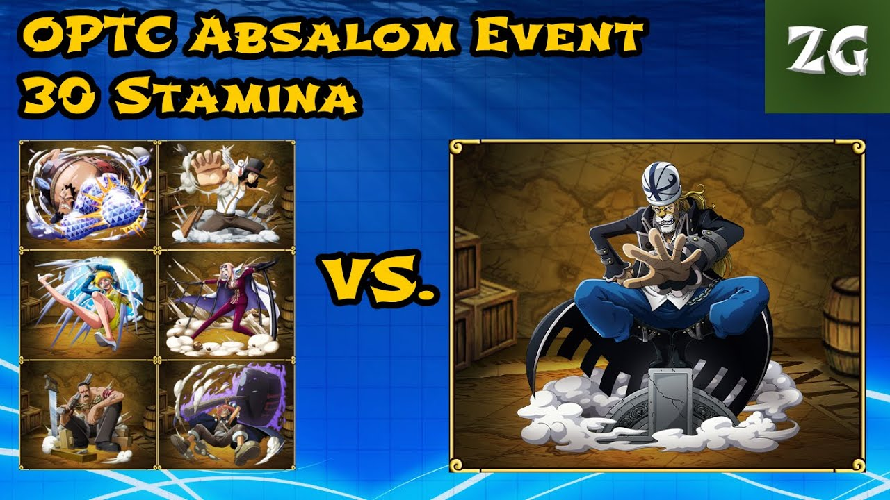 One Piece Treasure Cruise Absalom Event 30 Stamina Lucci ...