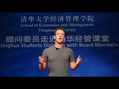 Mark Zuckerberg's 20-minute speech in clumsy Mandarin is his latest attempt to woo China扎克伯格清华中文演讲全程