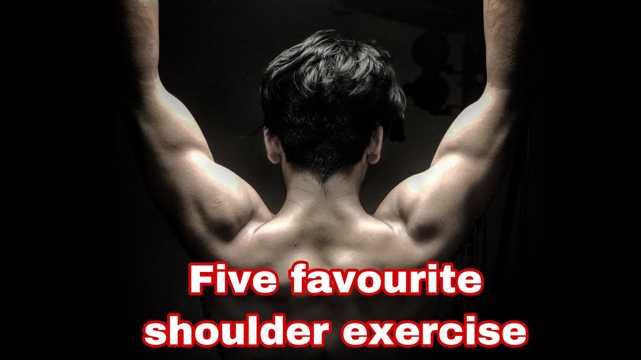 My five favourite shoulder exercise|Siddharth Nigam|fitness vlog|workout motivation|2020