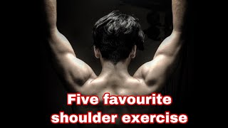 My five favourite shoulder exercise Siddharth Nigam fitness vlog workout motivation 2020