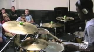 morgan simpson rock with you drum cover drum clinic at letchworth drum studios