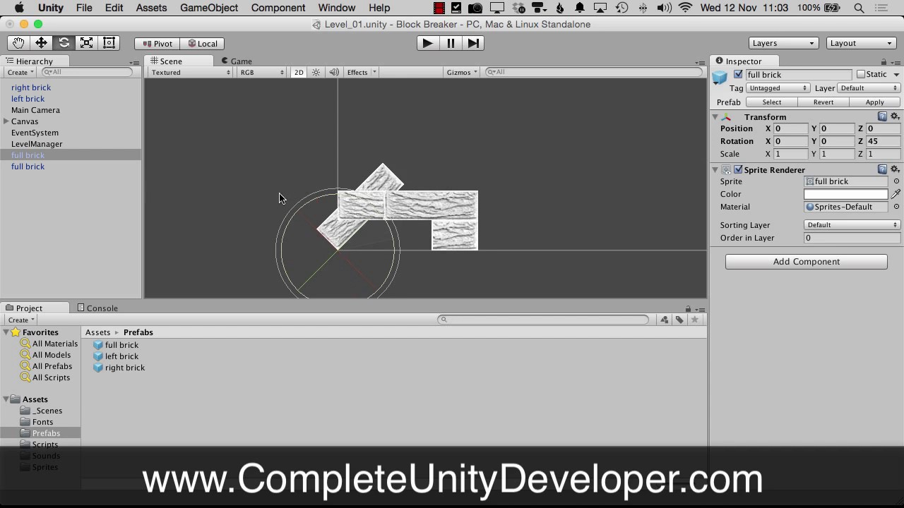 How To Snap To Grid In the Unity Editor