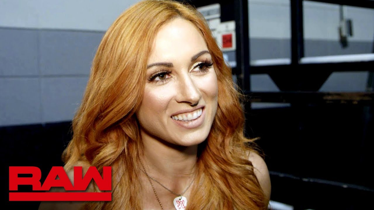 Becky Lynch gets goosebumps from the WWE Evolution announcement: Raw Exclusive, July 23, 2018
