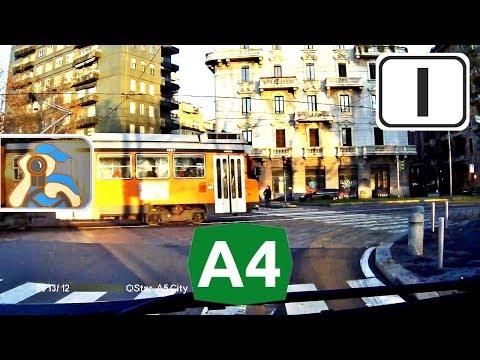 Italia. A4. ✕ Bergamo - Milano