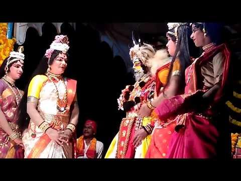 Yakshagana Mandarthi Kshetra Mahatme - 7 - ತೋಟಾಡಿ ಉದಯ್ as ನಂದಿ ಪ್ರವೇಶ