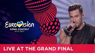IMRI I Feel Alive Israel LIVE At The Grand Final Of The 2017 Eurovision Song Contest