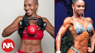 Is 80 years old and has a spectacular body - the oldest World Builder