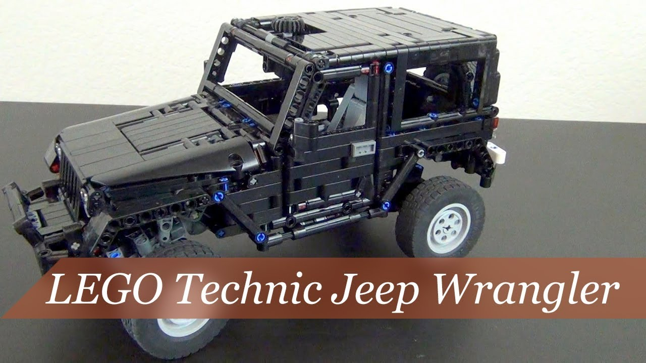 lego technic jeep moc secret santa gift youtube. Black Bedroom Furniture Sets. Home Design Ideas