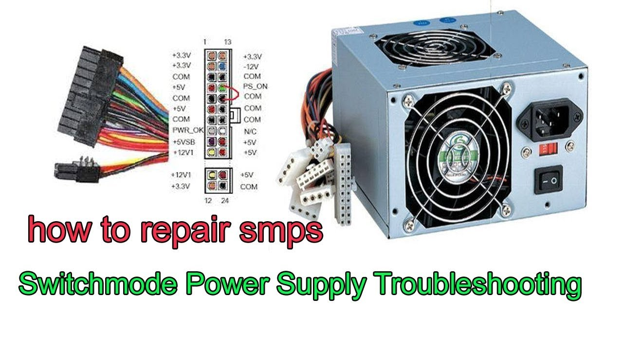 Troubleshooting And Repair Of Smps   Computer Power Supply