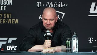 ufc 216 dana white post fight press conference mma fighting