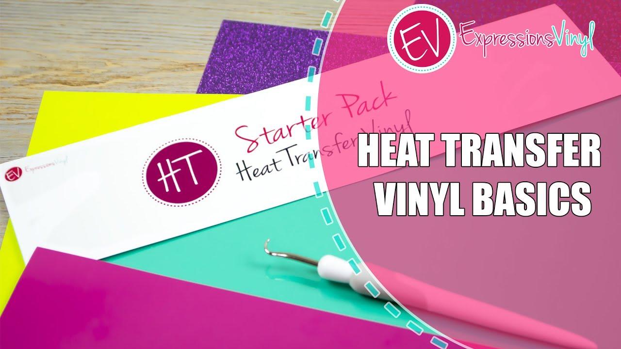 Heat Transfer Vinyl Basics