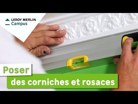 Comment Poser Des Corniches Et Rosaces Leroy Merlin