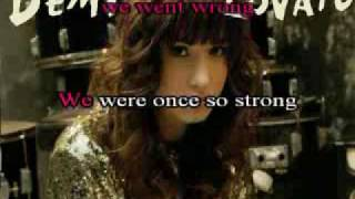 Demi Lovato - Don't Forget (Karaoke).flv