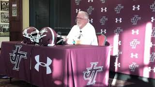 Jenks' Riggs reflects on Allan Trimble