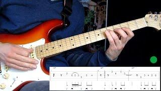 Простой блюз на электрогитаре Old time blues(Урок на гитаре как играть простой блюз на электрогитаре Old Time Blues guitar lesson. Автор блюза John Ganapes. Видео подготов..., 2016-02-09T11:30:10.000Z)