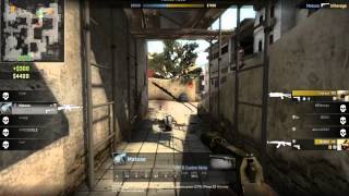 Highlight CS:GO 1 vs 5 2hp EPIC Fail TT