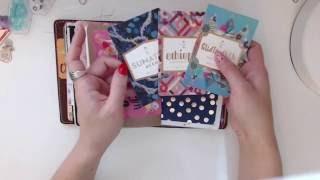 chicsparrow mr darcy a6 setup   sept 1   art journal