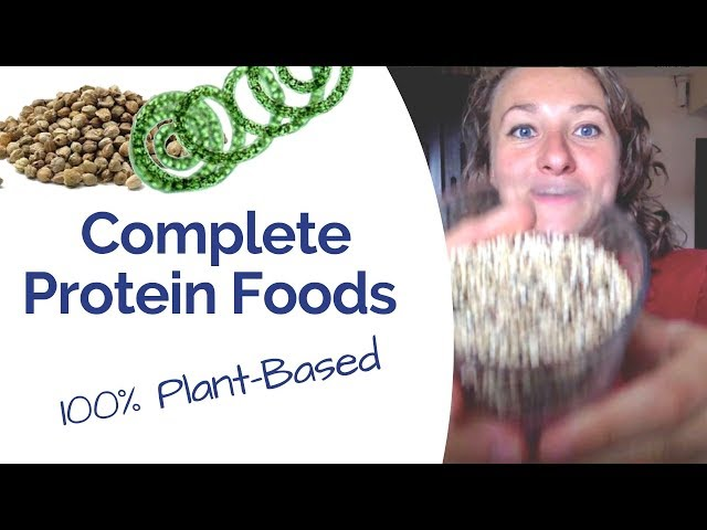 Where to get your protein from if you're eating plant based? - My 3 favourite complete protein foods