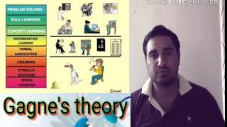 GAGNE'S THEORY OF LEARNING IN HINDI(हिन्दी )  PsYcHoLoGy