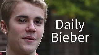 Justin Bieber Is Now Taking Photos & Giving Out Hugs - VIDEO