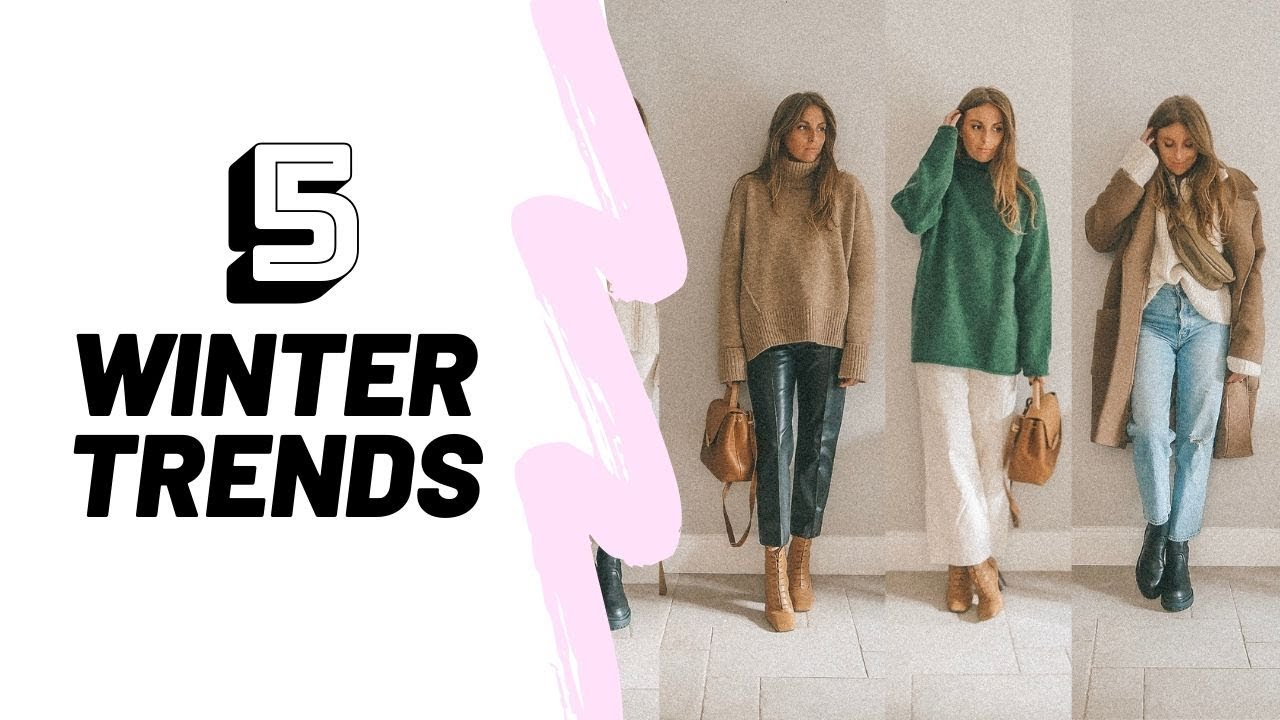 [VIDEO] - 5 Winter Fashion Trends // Winter Outfit Ideas // Sinead Crowe 1