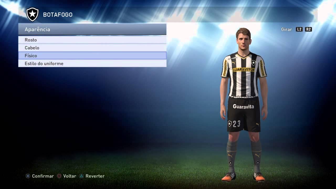 Artesanato Historia ~ Mario Bolatti Botafogo PES 2015 PS4 XBOX ONE YouTube