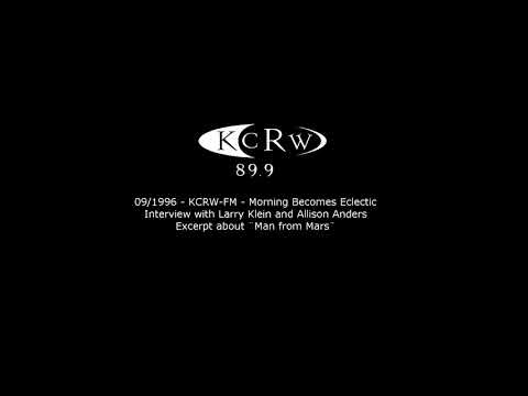 KCRW-FM - Morning Becomes Eclectic - Excerpt from Larry Klein & Allison Anders Interview - 09/1996