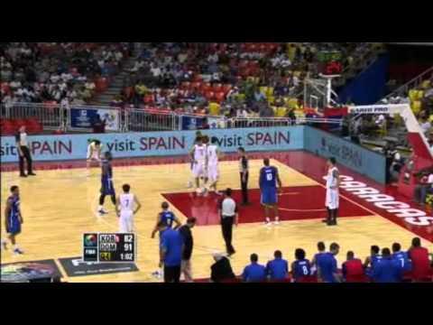 Republica Dominicana vs Korea 95-85 repechaje 2012
